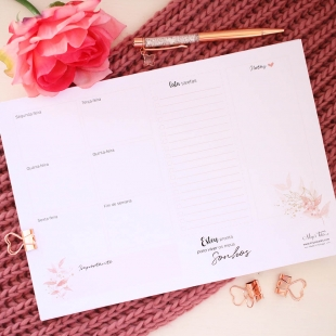 Weekly planner - folhas