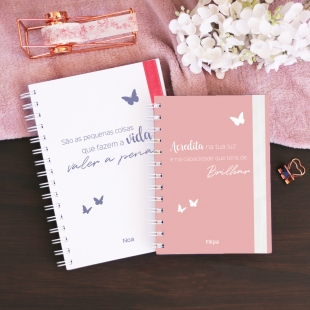 Gratitude Journal A - Borboletas