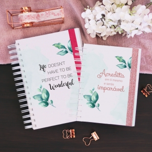 Daily planner 2021 - Folhas