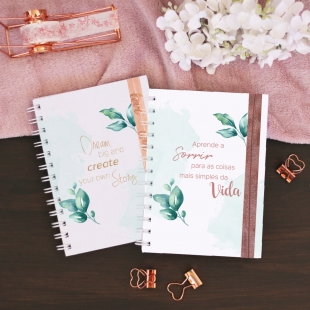 Monthly planner 2020-2021 - Folhas