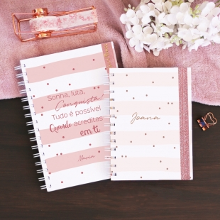 Undated weekly planner - Glamour
