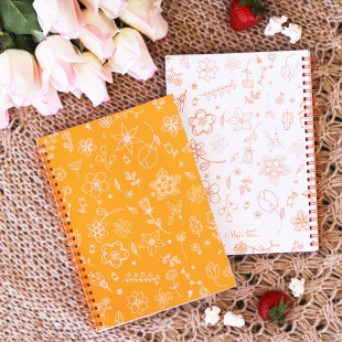 Notebook A5 Spring Orange - Softcover