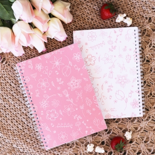 Notebook A5 Spring Pink - Softcover