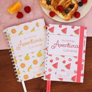 KIDS recipe notebook - Fruit pattern theme