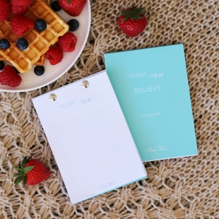 Believe Notepad - Size A6
