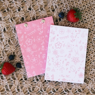 Notepad Spring Pink - Size A6