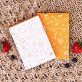 Notepad Spring Orange - Size A6