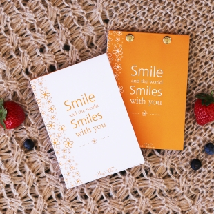 Smile Notepad - Size A6