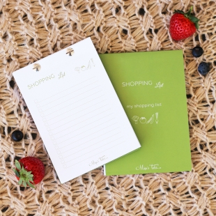 Kitchen My Shopping List Green - Size A6