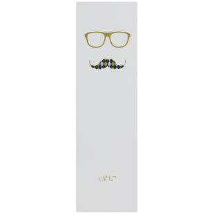Hipster Gentleman Bookmarker