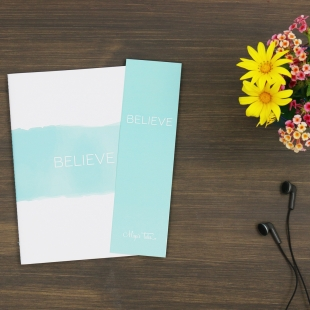 Inspiration Believe Bookmarker