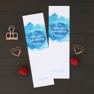 Inspiration Creativity Bookmarker