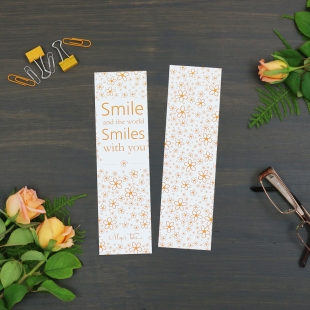 Inspiration  Smile Bookmarker