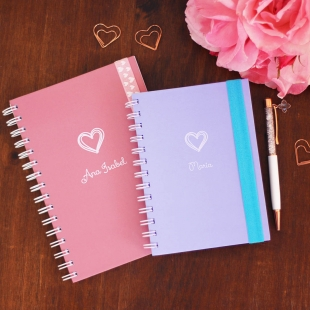 Notebook A5, B6 or A6 Love - Hardcover