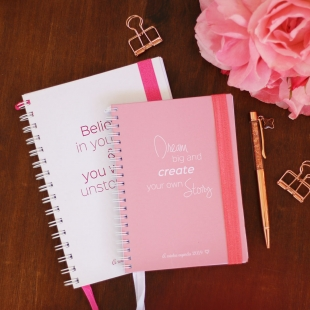 Notebook A5, B6 or A6 Inspiration - Hardcover