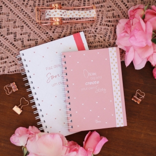 Notebook A5, B6 or A6 Tenderness - Hardcover