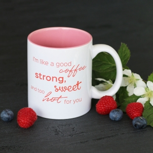 Coffee Strong and Sweet Mug