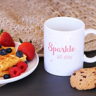 Caneca Sparkle All Day