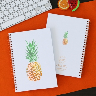 Notebook A5 Pineapple - Softcover