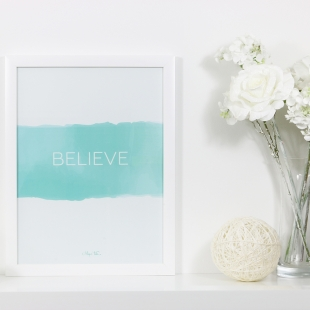 Inspiration Believe Poster