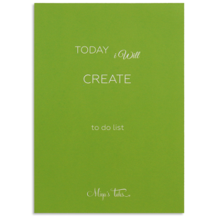 Inspiration Create To Do List