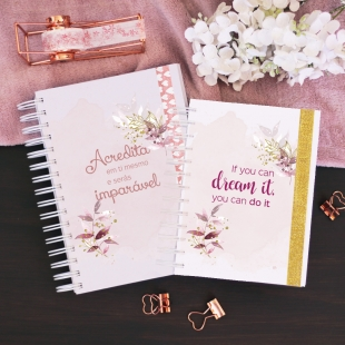 Undated daily planner - Shine