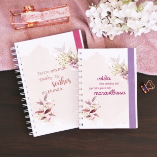 Notebook A5, B6 or A6 Shine - Hardcover