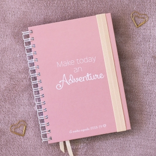 Planner 2018 daily view Adventure A5 (Portuguese version)