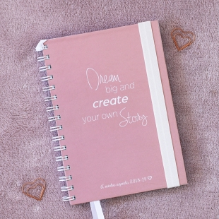 Planner 2018 daily view Dream A5 (Portuguese version)