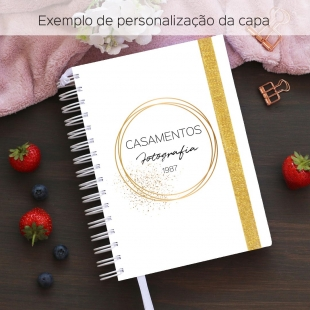 Notebook for orders for small business - Size A5 (Portuguese version)