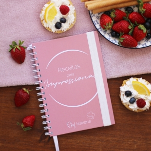 VEGETARIAN recipe notebook - Inspiration theme