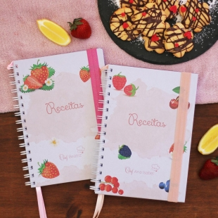 KIDS recipe notebook - fruit theme