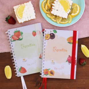 DESSERTS recipe notebook - fruit theme
