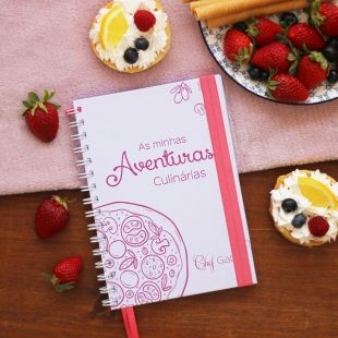 DESSERTS recipe notebook - Inspiration theme